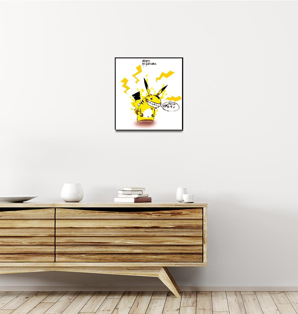 """Picachu""  (2008) by insekto"