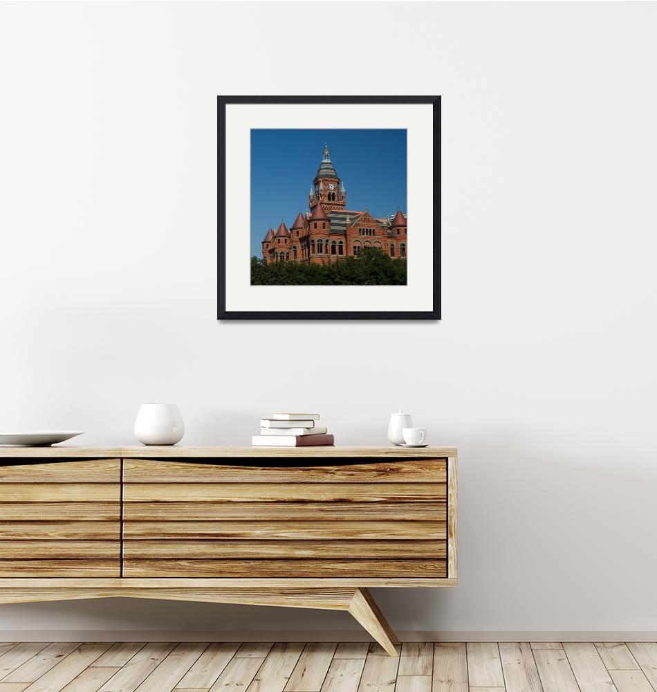 """Old Red Courthouse & Museum""  (2008) by dewaun"