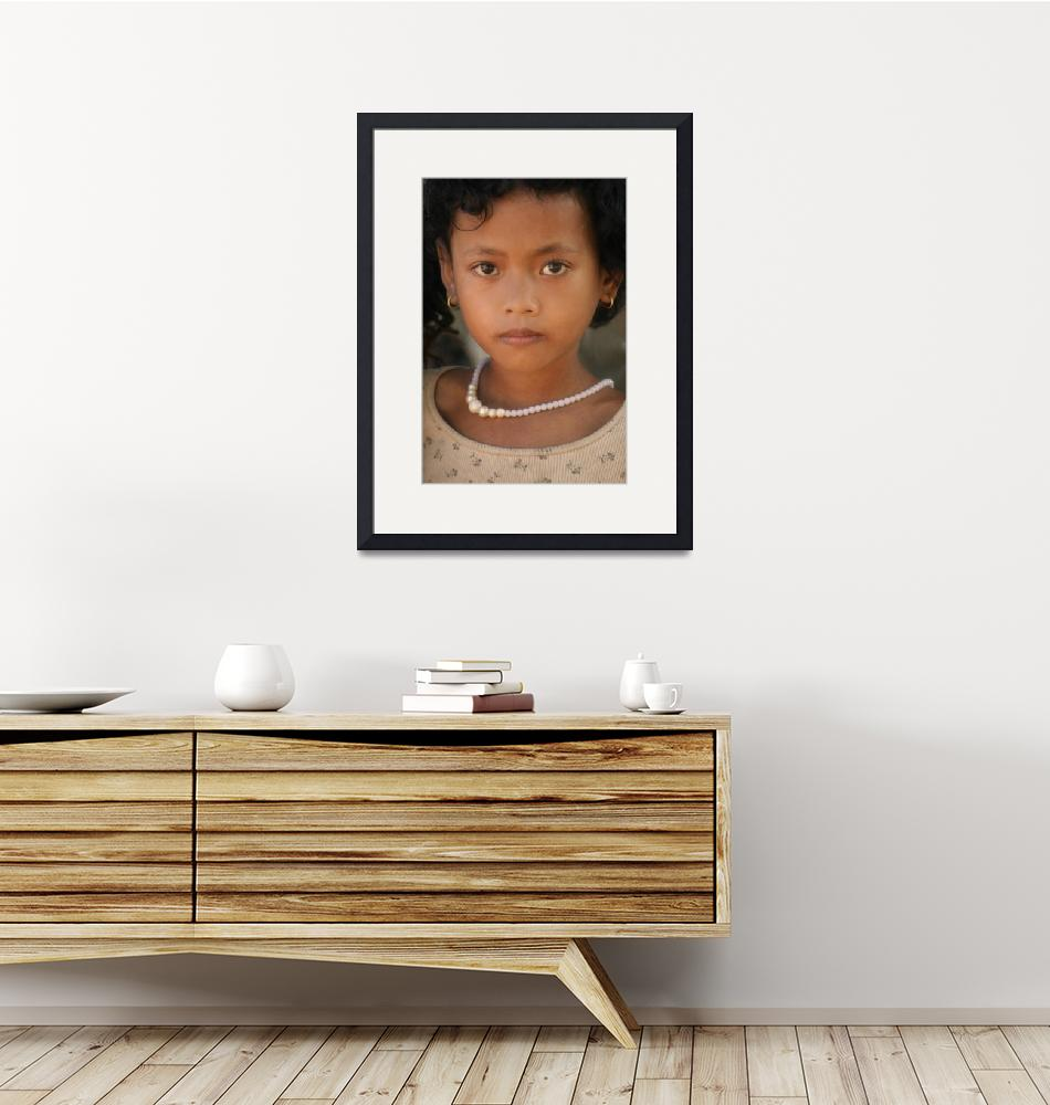 """""""Cambodian Girl""""  (2008) by RossilliconPhotography"""