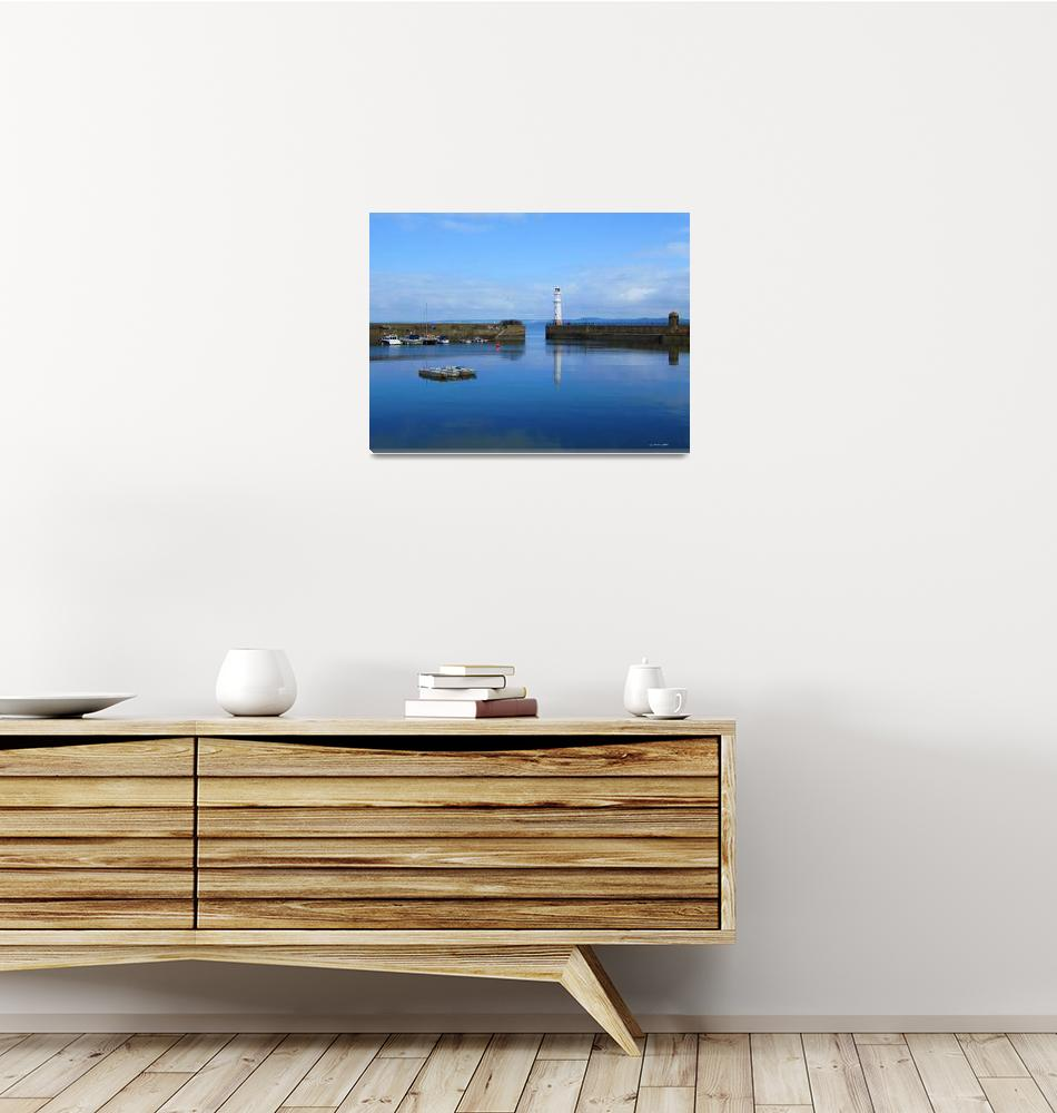 """""""Newhaven Harbour""""  (2011) by IanGMclean"""