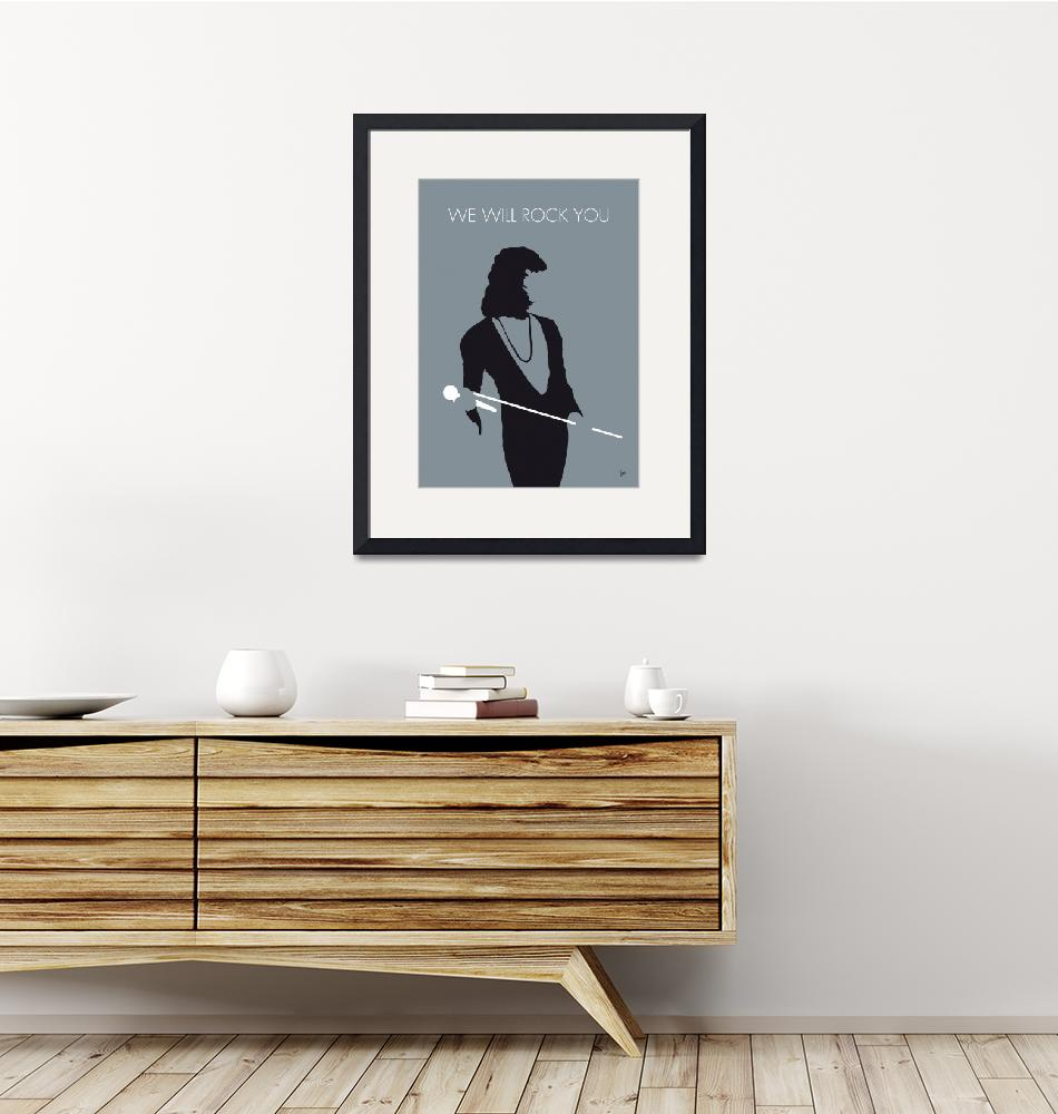 """""""No027 MY QUEEN Minimal Music poster""""  by Chungkong"""
