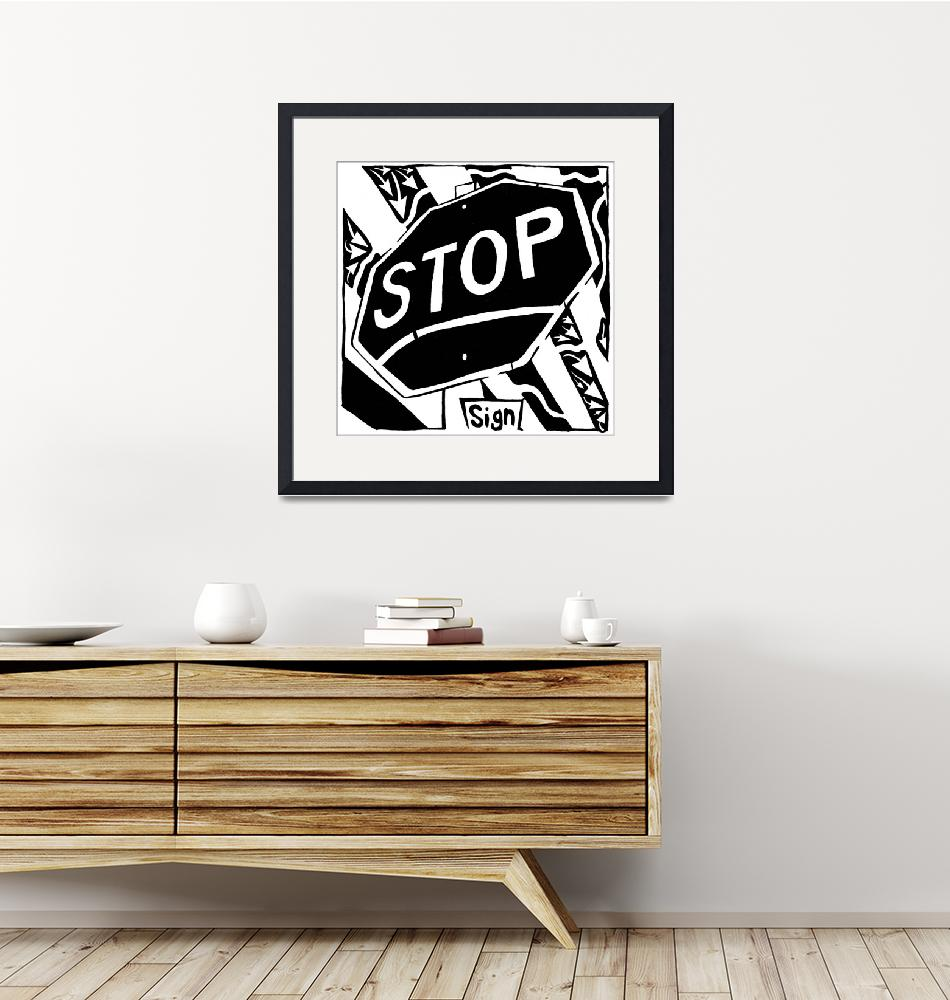 """""""s-is-for-stop-sign-maze""""  by yfrimer"""