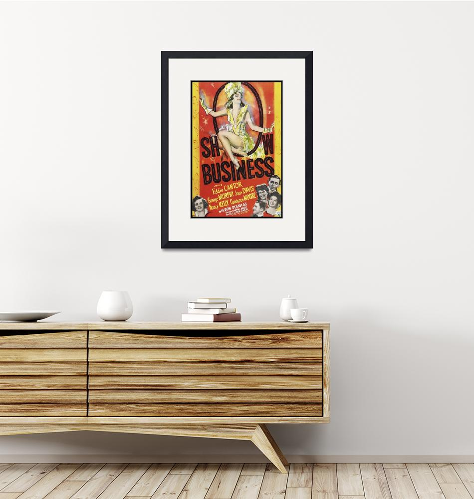 """""""Show Business Vintage Movie Poster""""  by FineArtClassics"""