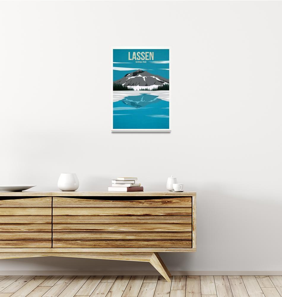 """Lassen National Park""  by HarknettPrints"