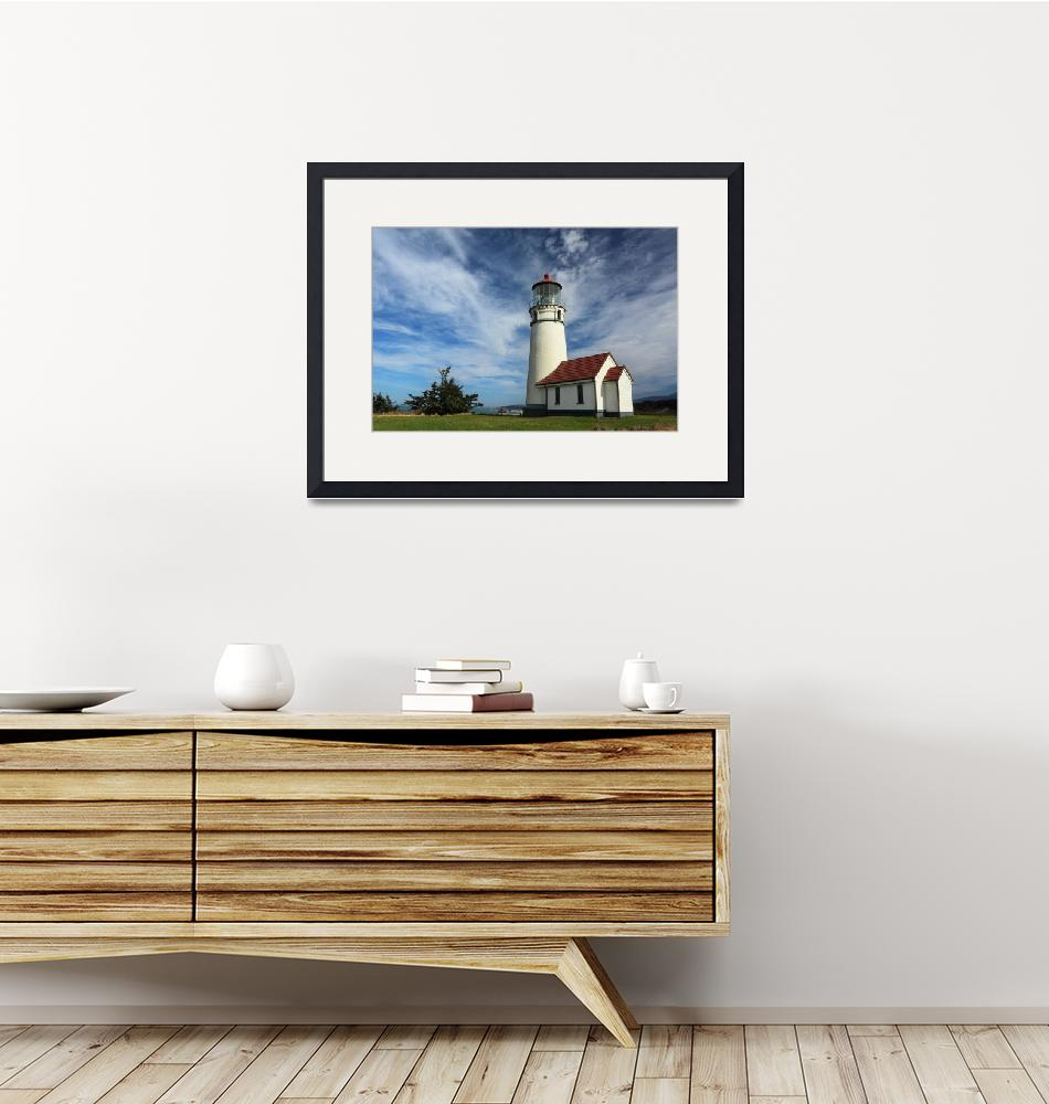 """""""The Lighthouse At Cape Blanco""""  (2010) by jameseddy"""