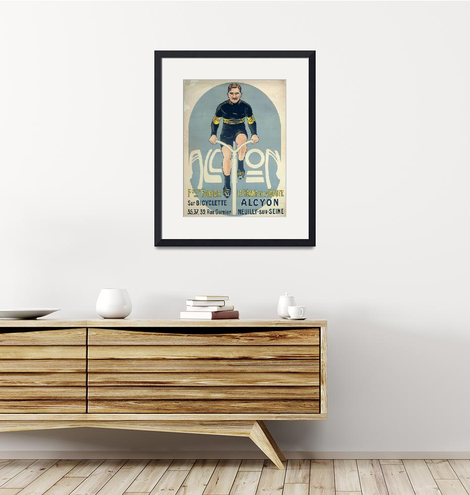 """Poster depicting Francois Faber""  by fineartmasters"