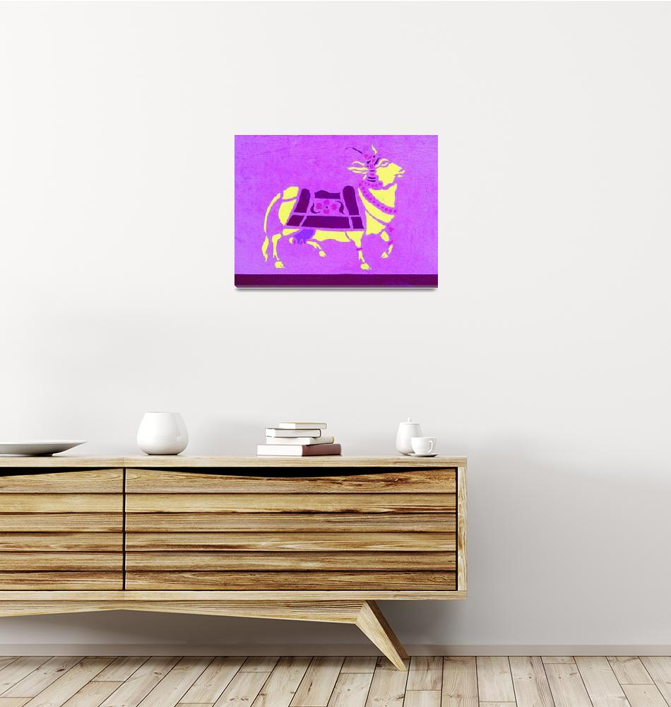 """Purple cow""  (2000) by SabrinaFradlina"