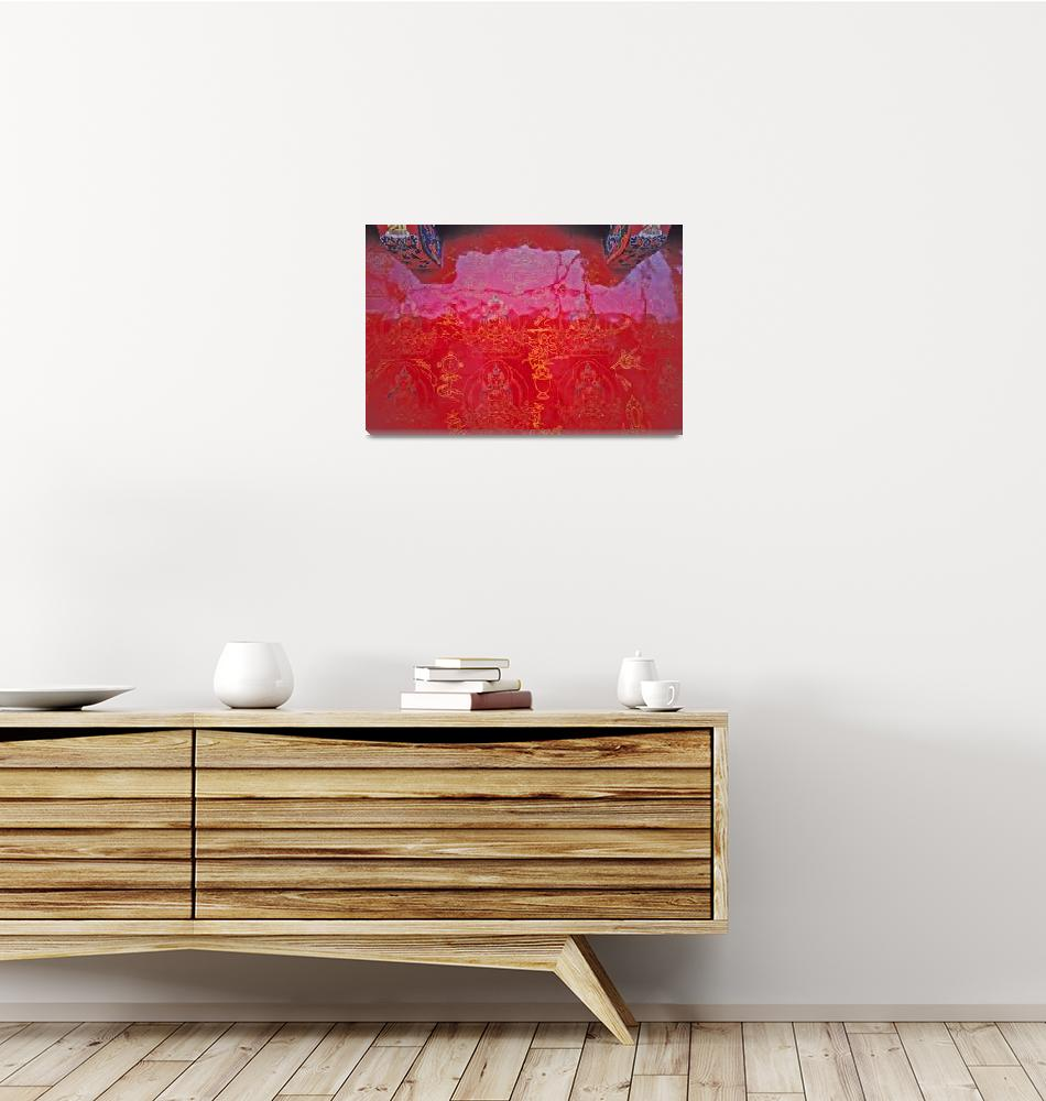 """""""red wall""""  by KurtThorson"""