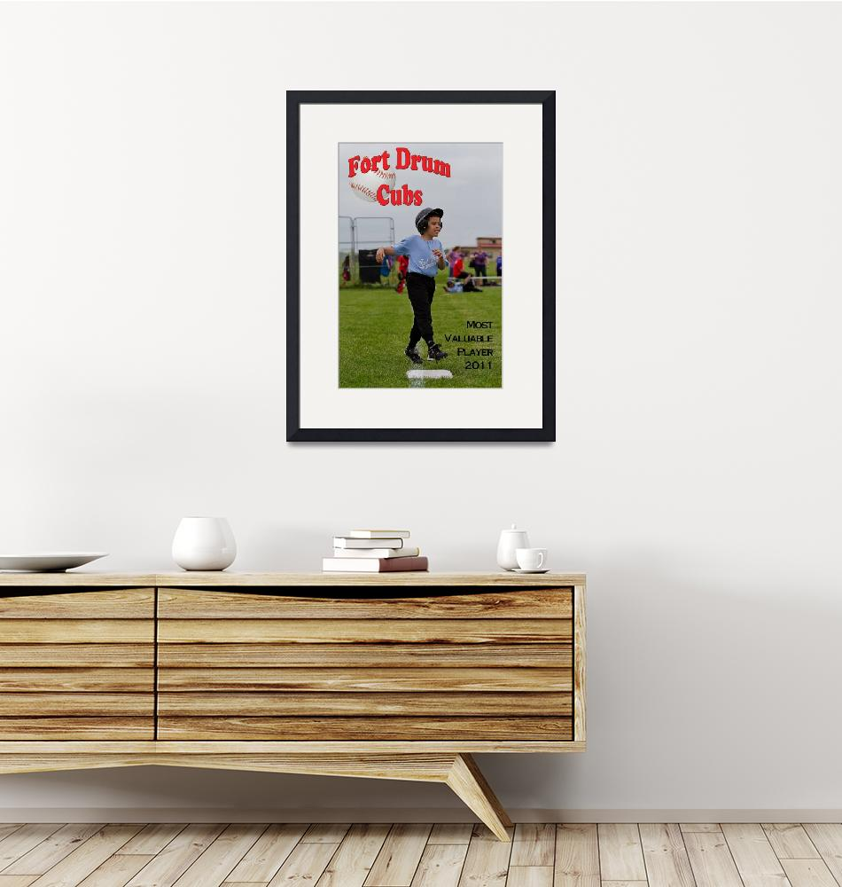 """Baseball MVP 2011 24x36 poster""  (2011) by ChandlerSports"