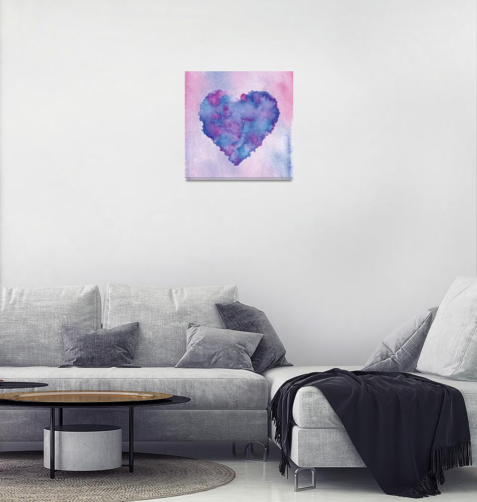 """Colorful heart""  (2014) by nopiepan"