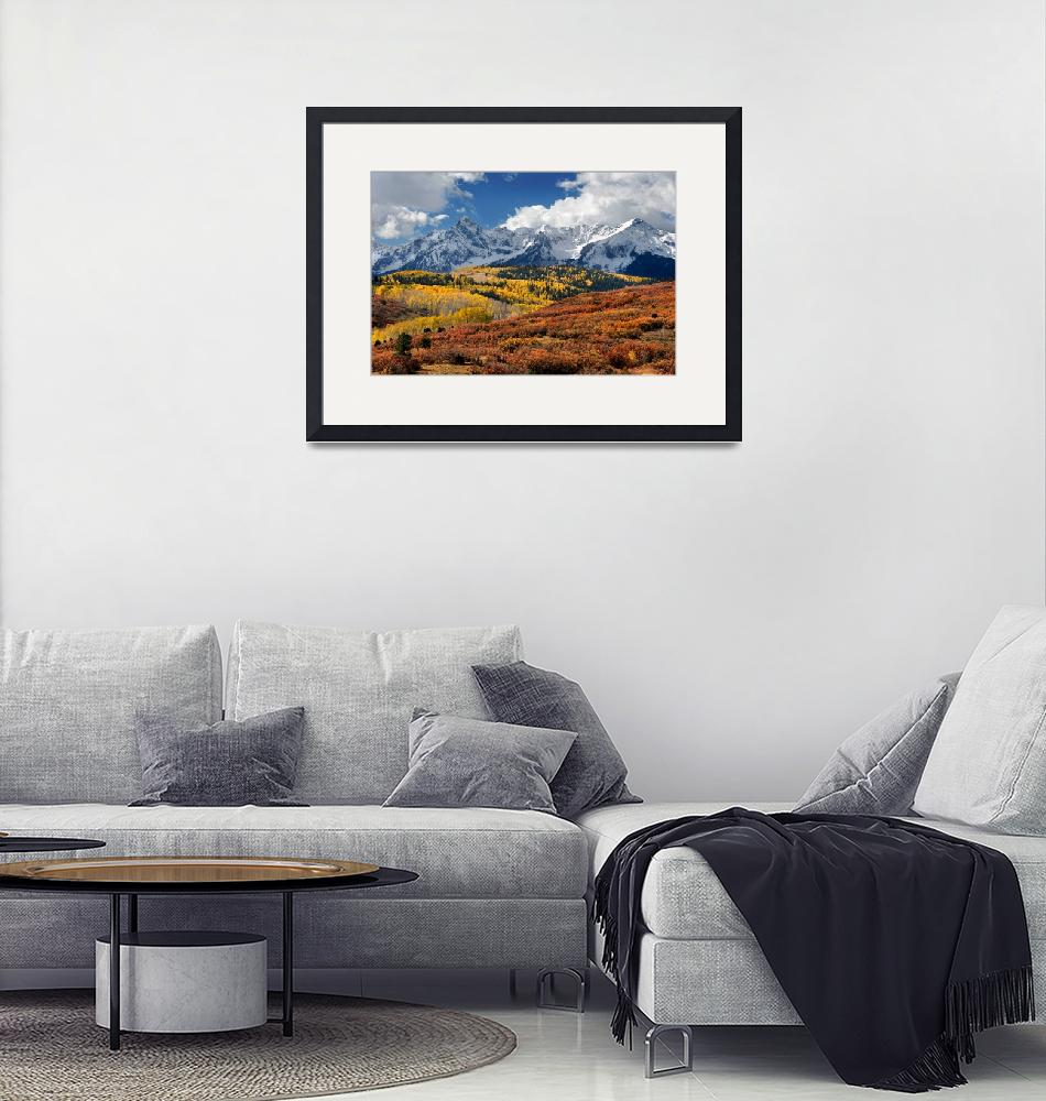 """""""The San Juan Mountains In Fall""""  (2009) by pbk"""