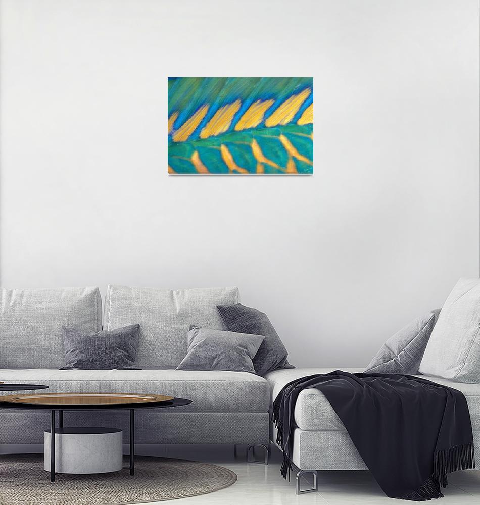 """""""Micronesia, Bicolor Parrotfish Dorsal Fin And Scal""""  by DesignPics"""