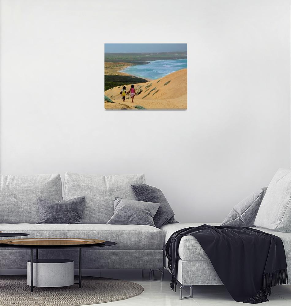 """Praia do Norte, Sao Vicente, Cape Verde""  by JuliaFineArt"
