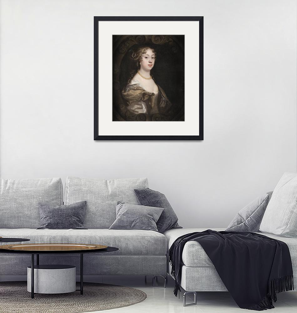 """Mary Beale, Peter Lely~Lady Abigail Webster, nee J""  by Old_master"