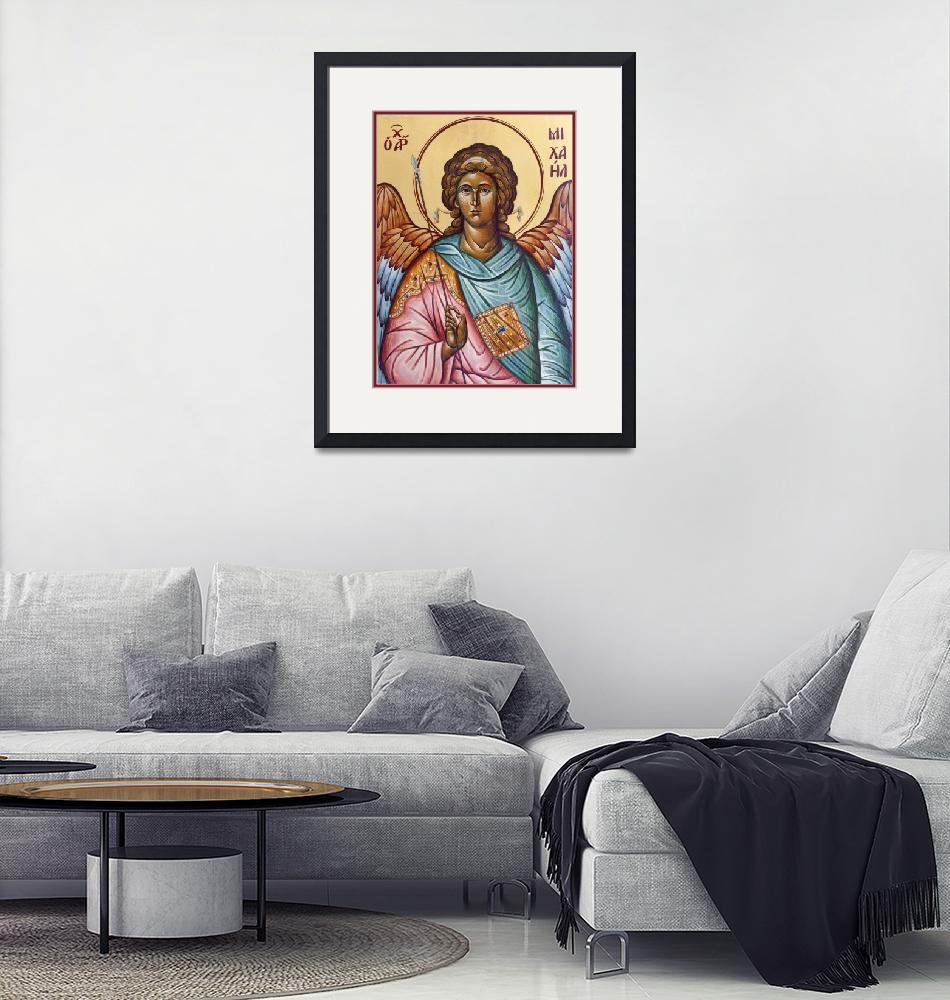 """Archangel Michael""  (2008) by ikonographics"