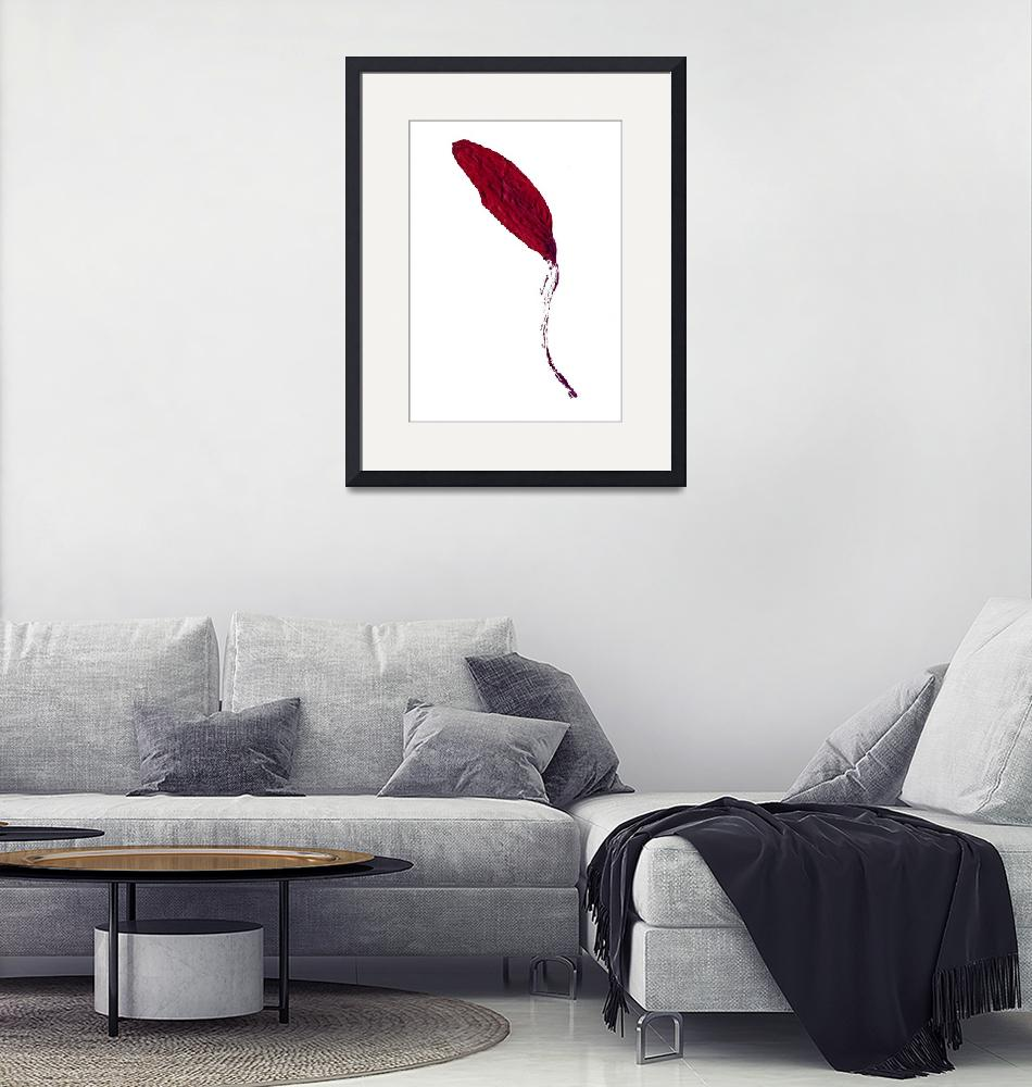 """""""red leaf""""  (2018) by jnanian"""