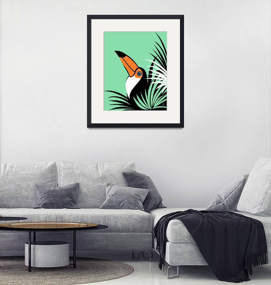 """""""Stylized Toco Toucan""""  by waterart"""