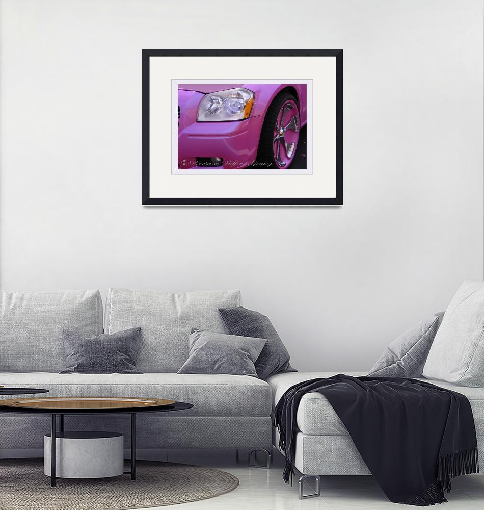 """""""Closer Look of a Pink Dodge""""  by barbee"""