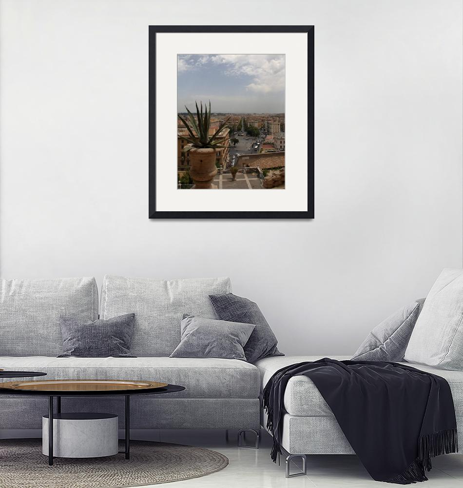 """""""View of Rome""""  (2012) by AdventureImages"""