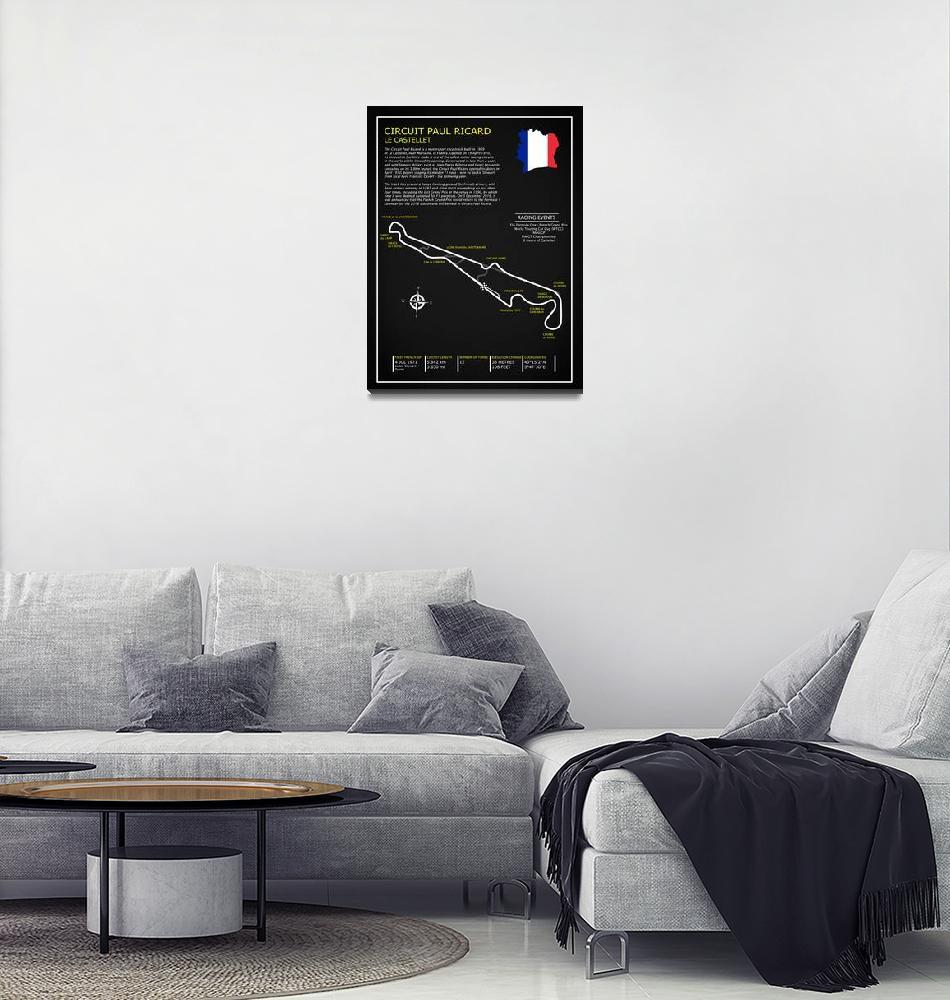 """Circuit Paul Ricard""  by mark-rogan"