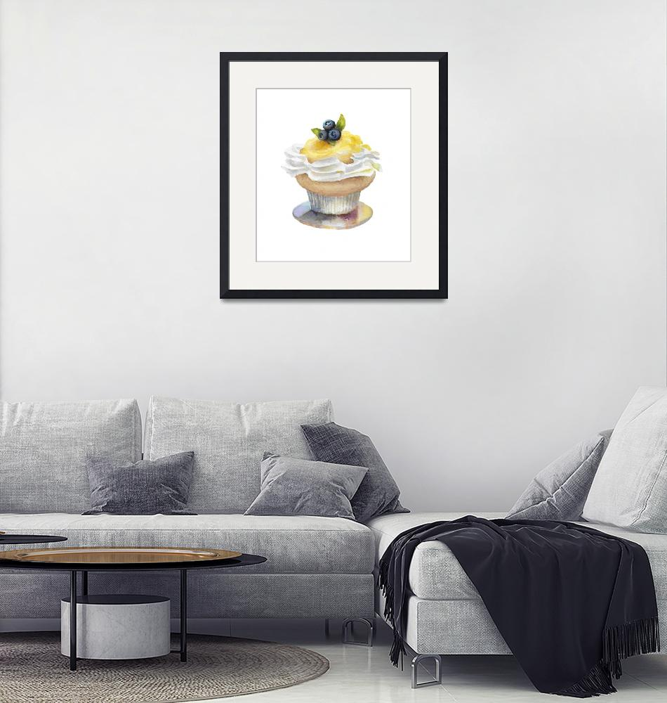 """Gateau Citron""  (2019) by lindabrayart"
