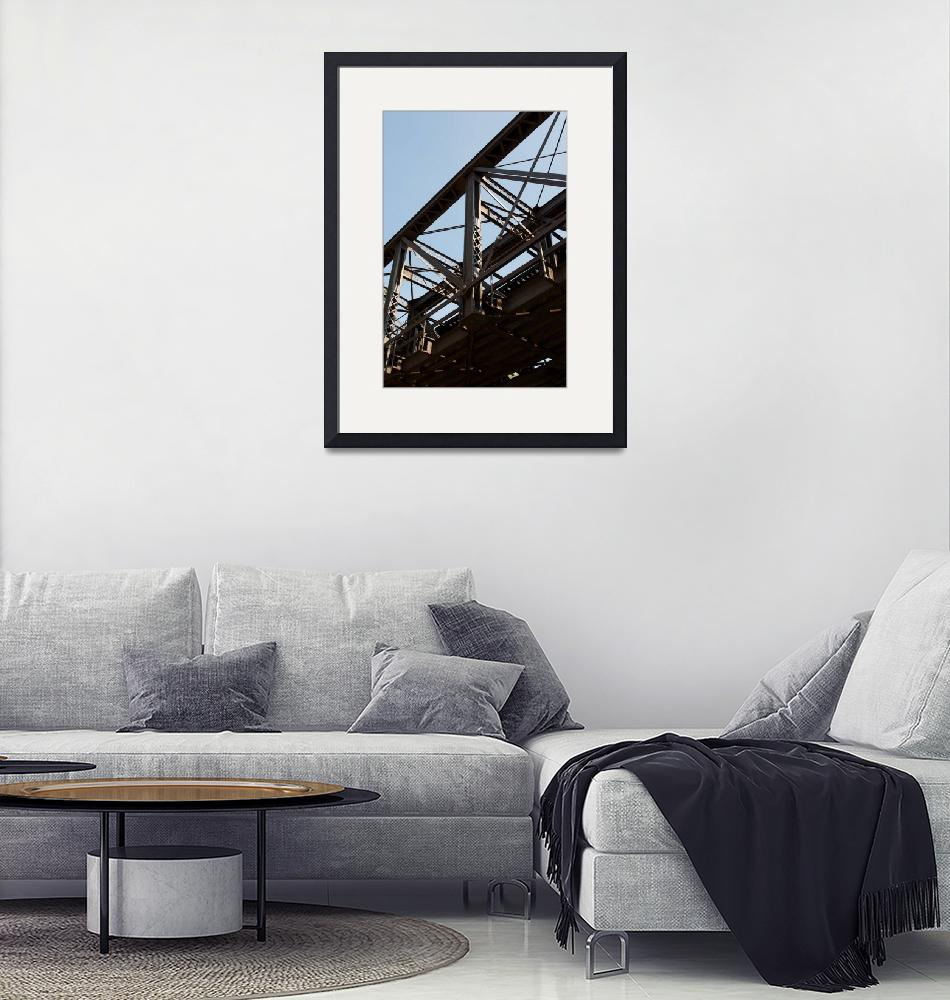 """Rail Road Bridge"" (2009) by eddohertyjr"
