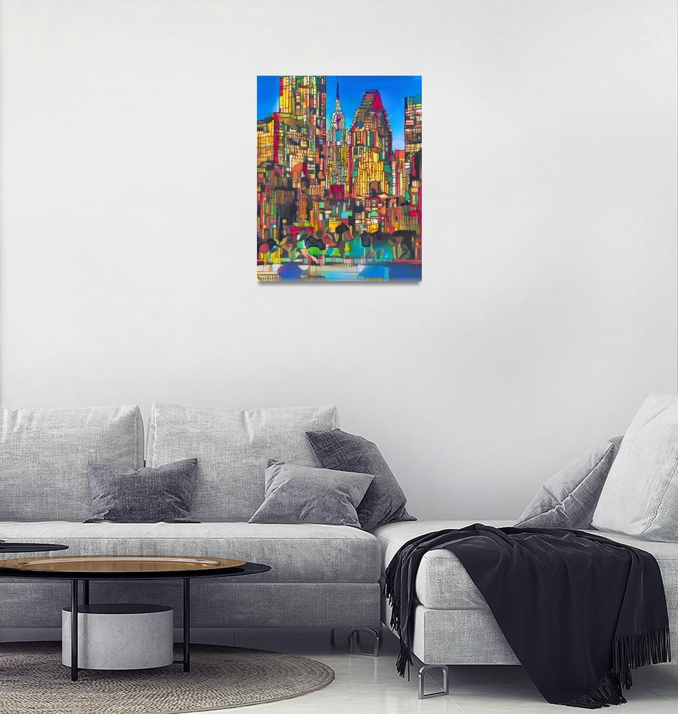 """Holiday Lights New York City""  (2018) by RDRiccoboni"