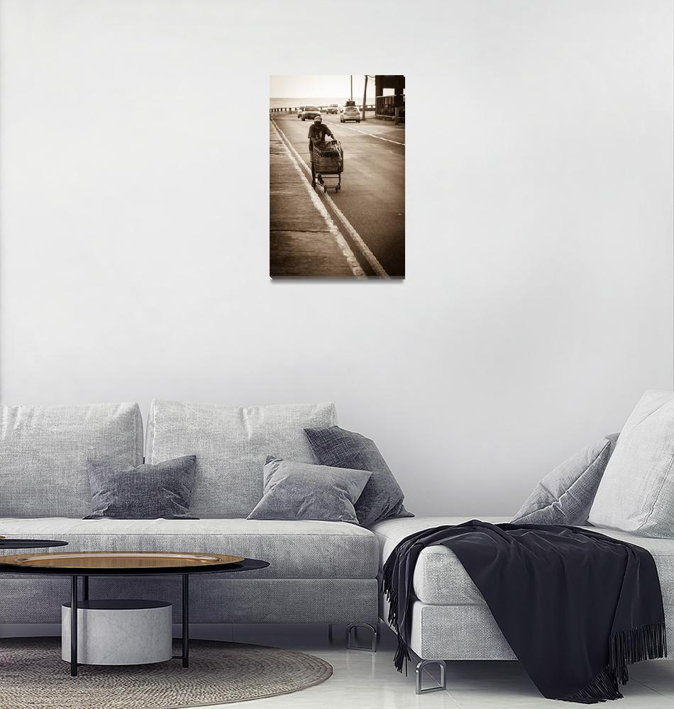 """""""Lonely Ride""""  (2011) by PhotoPete"""