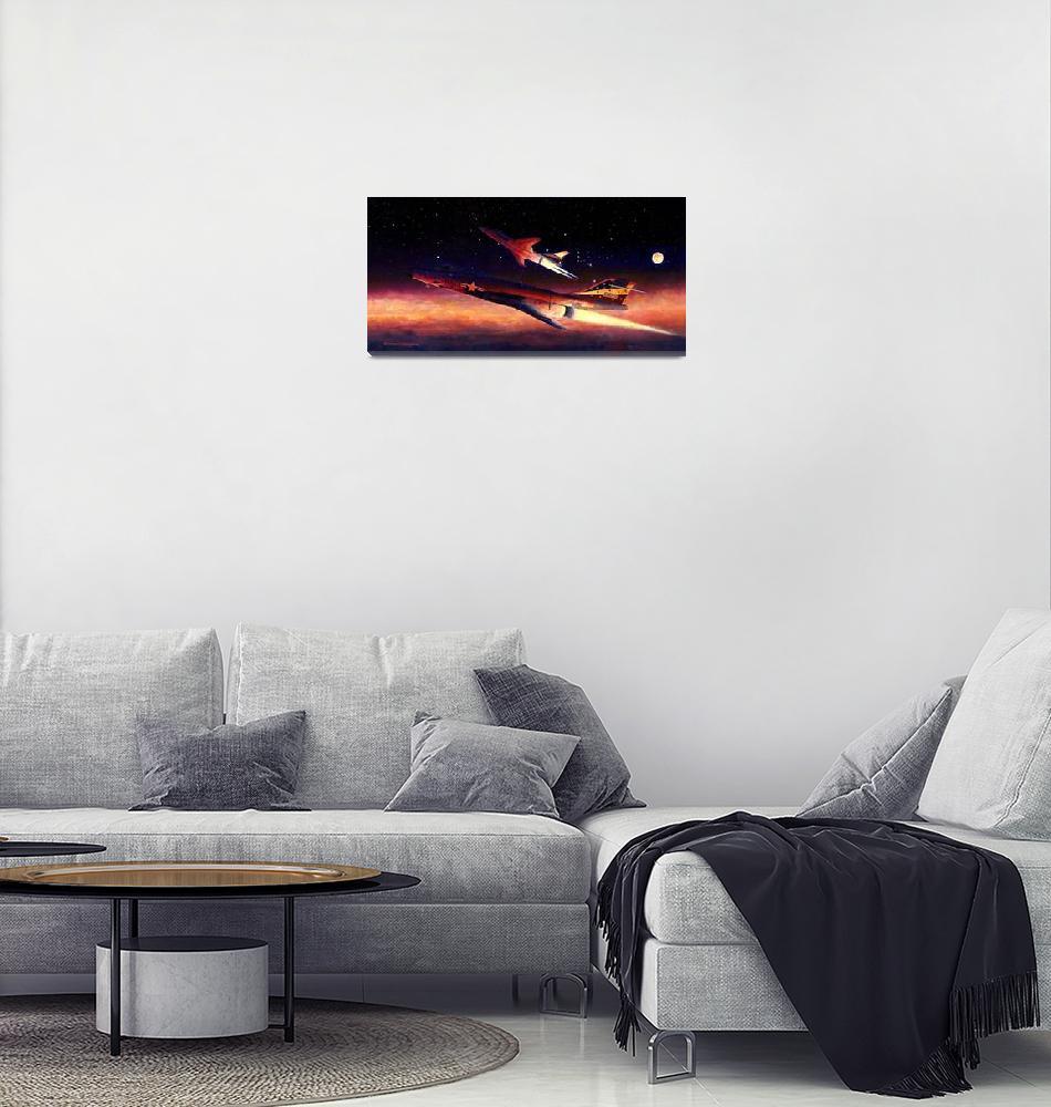 """Voodoos in Orion""  (2004) by DNCartist"