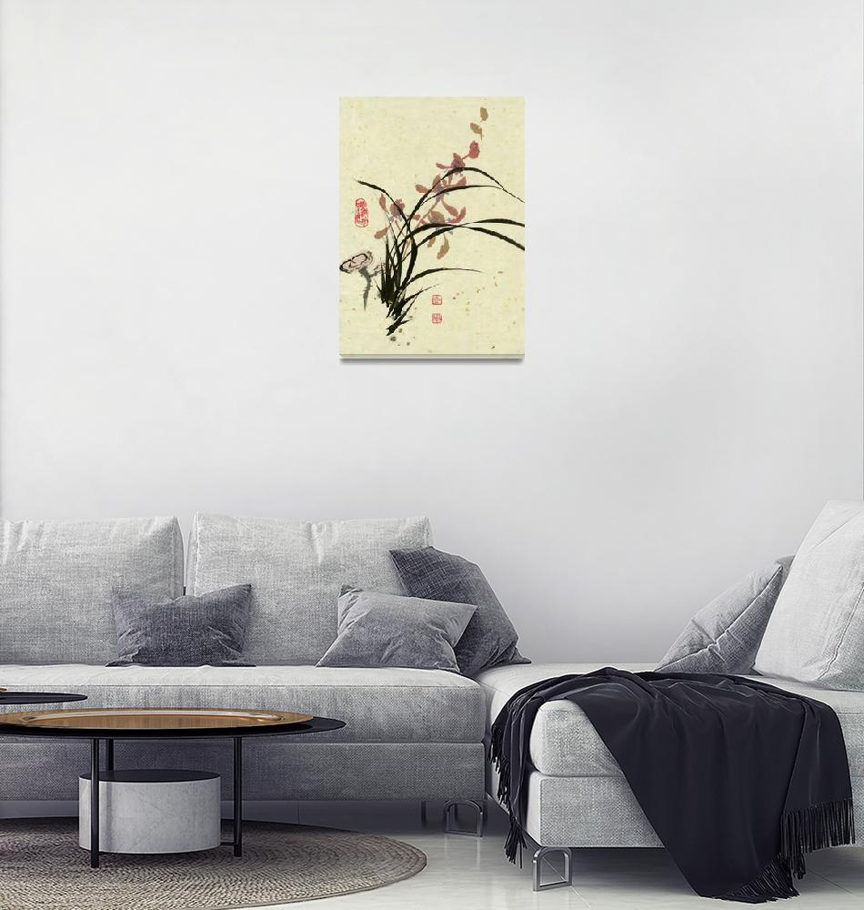 """""""Orchid - 12""""  by RiverHan"""