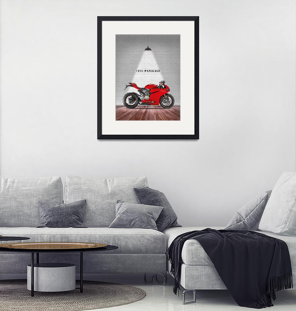 """The Ducati Panigale 1299""  by mark-rogan"