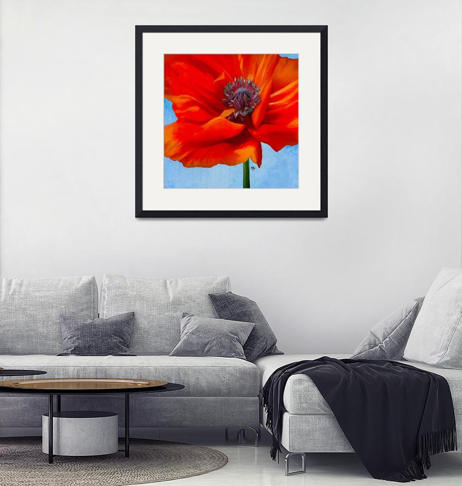 """perfectly poppy""  (2018) by tammyleebradley"