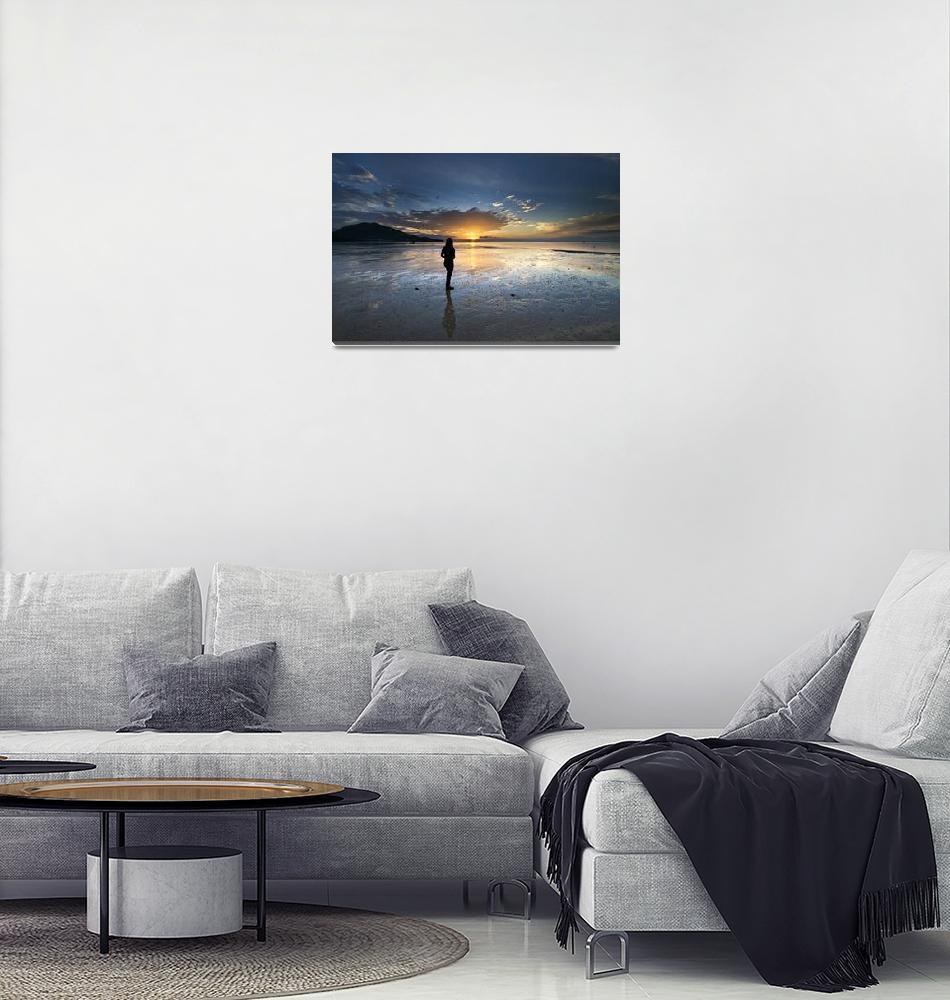 """Landscape - Nai Yang Beach, Thailand""  (2009) by hockhow"