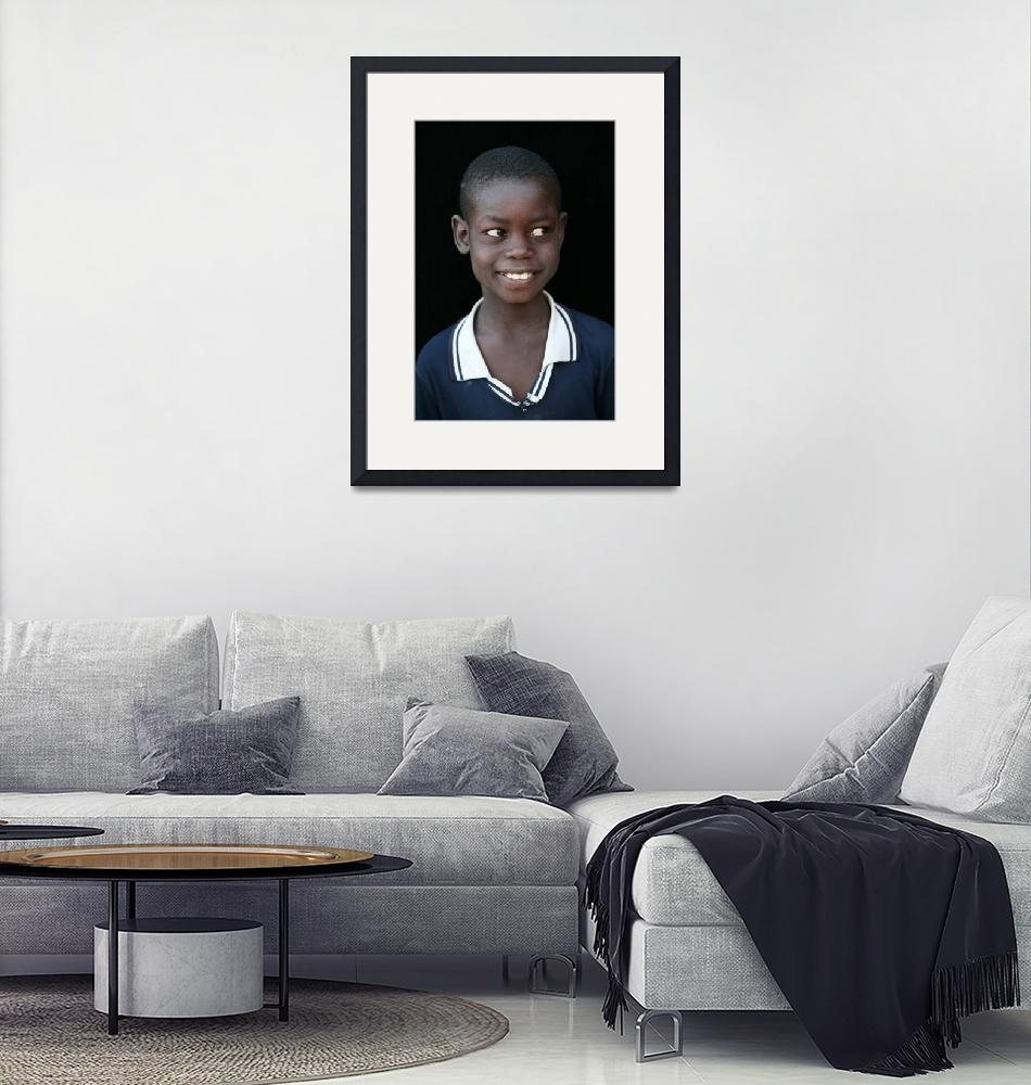 """""""Mauritanian Boy 2""""  (2009) by AndreaMoorePhotography"""