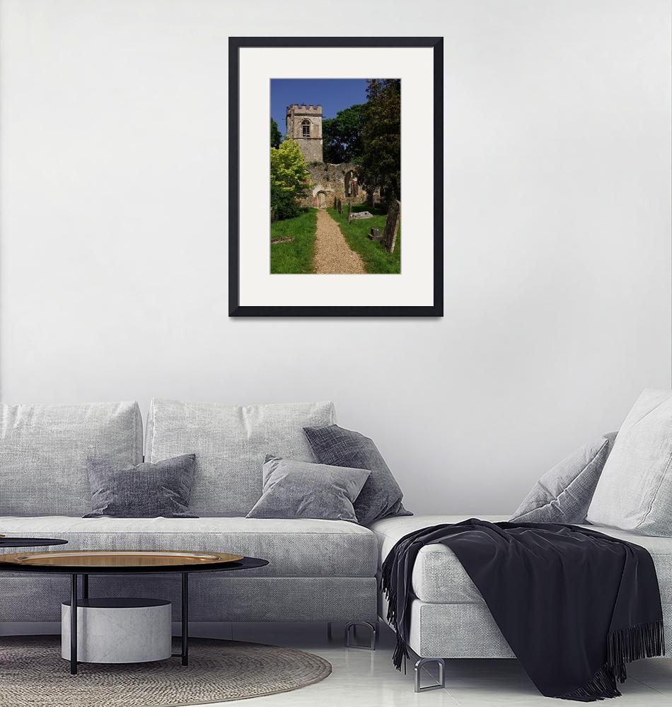 """""""Ruined Church, Ayot St Lawrence""""  (2008) by loversdream"""