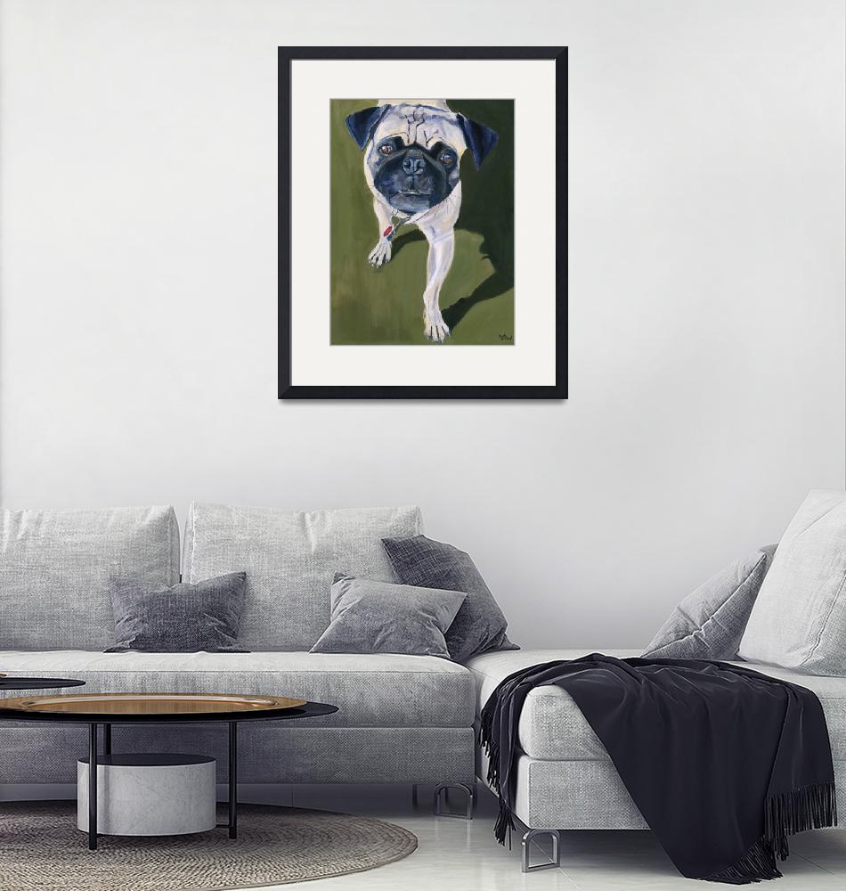 """""""Pug in the Park"""" (2008) by kelliestraw"""