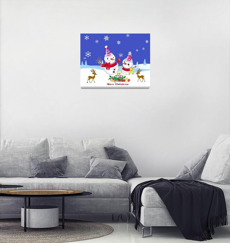 """Merry Chiristmas""  (2013) by ngocdai86"