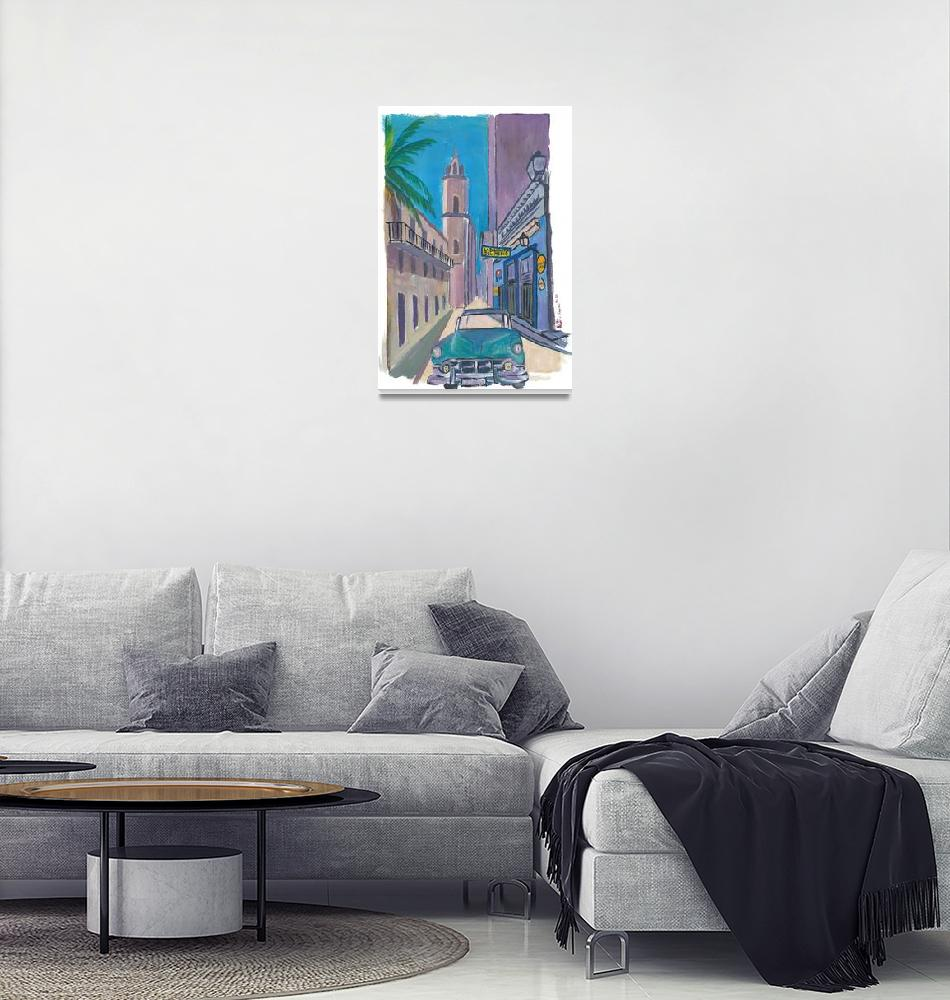 """Havana Cuba La Bodeguita Del Medio Painting""  by arthop77"