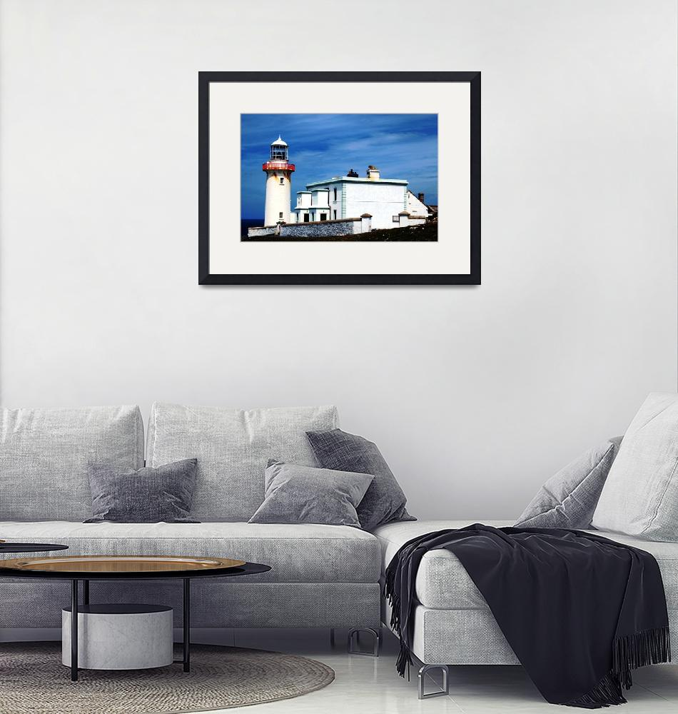 """""""Arranmore Lighthouse""""  (2011) by stephenmaxwell"""