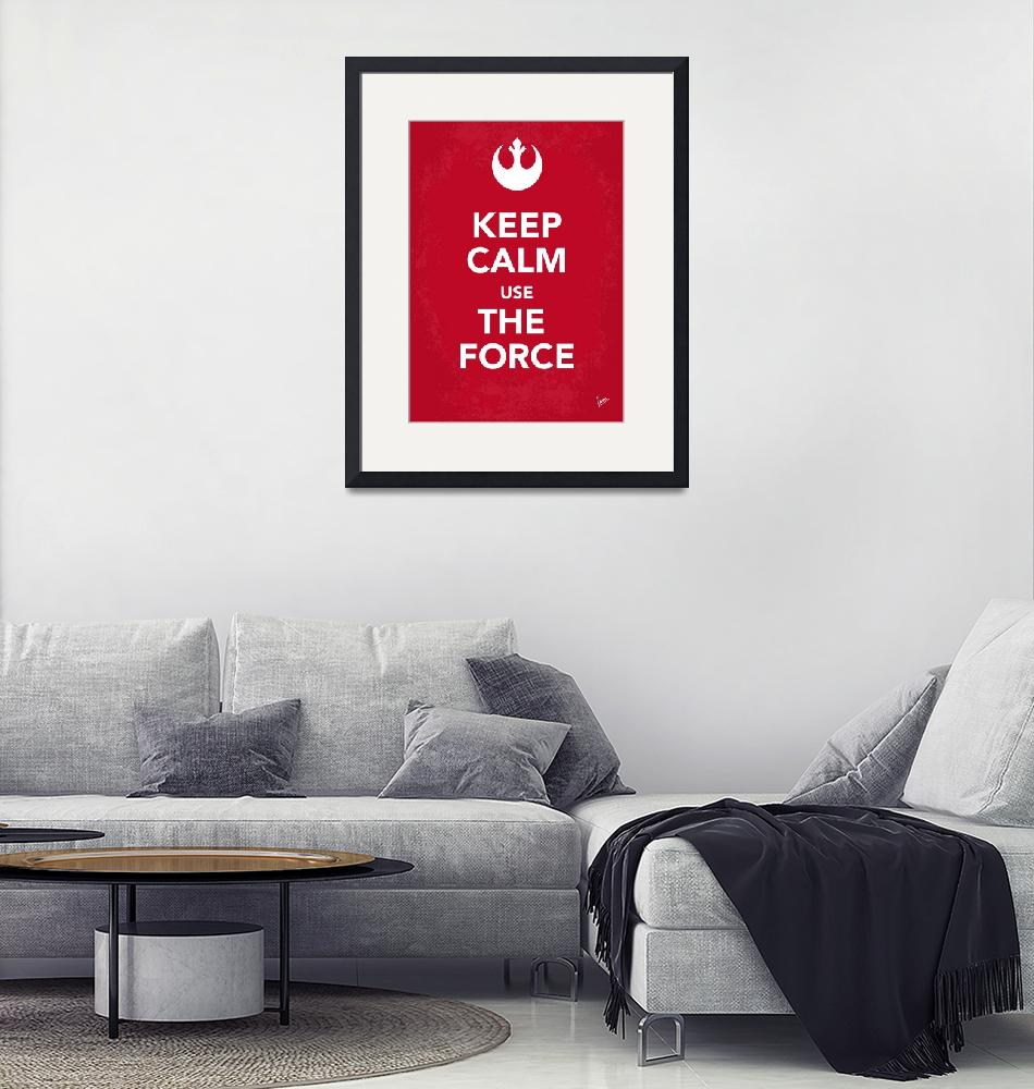 """My Keep Calm Star Wars - Rebel Alliance-poster""  by Chungkong"