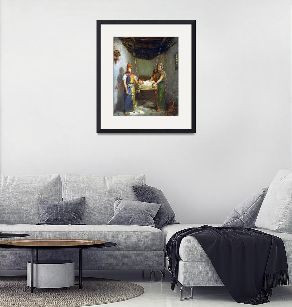 """""""Théodore Chassériau Scene in the Jewish Quarter""""  by PDGraphics"""