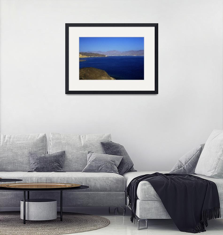 """""""Gulf of Aqaba Red Sea""""  (1994) by JoaoPonces"""