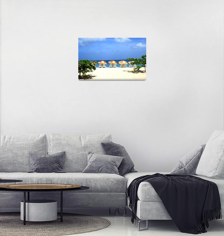 """Tropical Beach""  (2011) by feophotos"