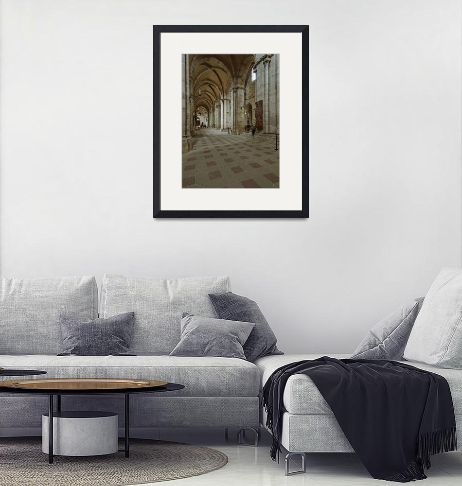 """""""Cathedral, Bamberg 12""""  (2010) by PriscillaTurner"""