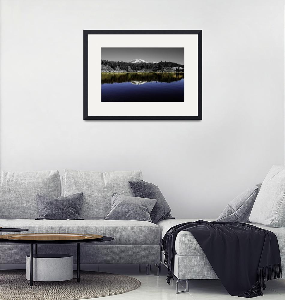 """""""Lake Dillon in color and Black and White""""  by LFK797"""