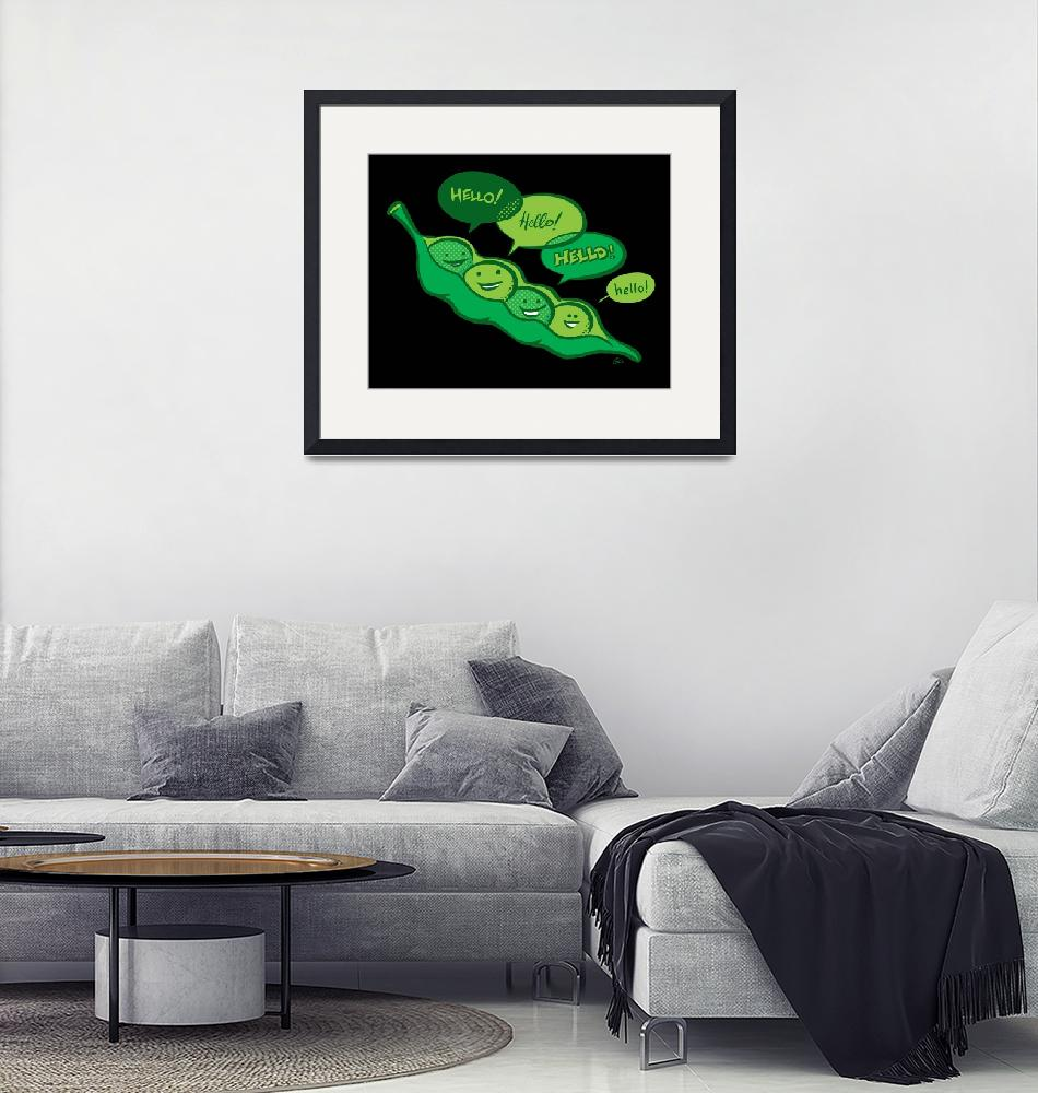 """""""Peas in a Pod""""  (2008) by GC"""