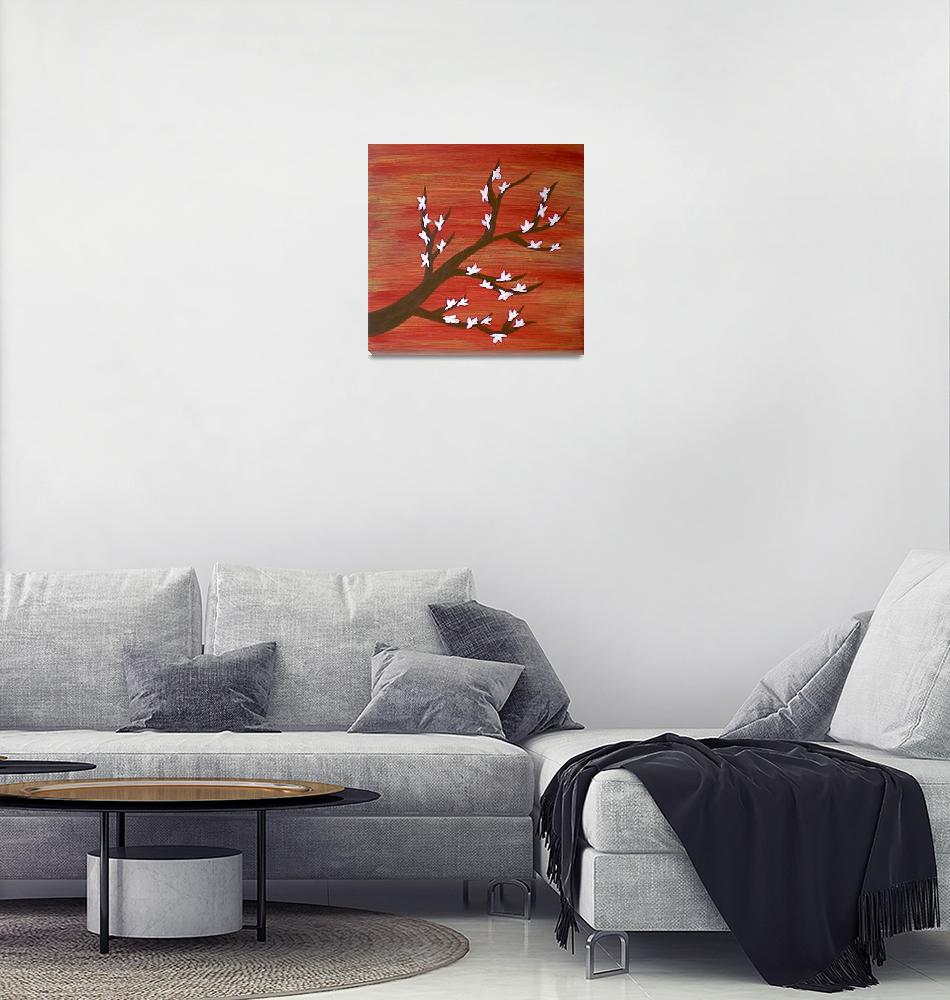 """""""Blossoms""""  (2009) by melissahager"""