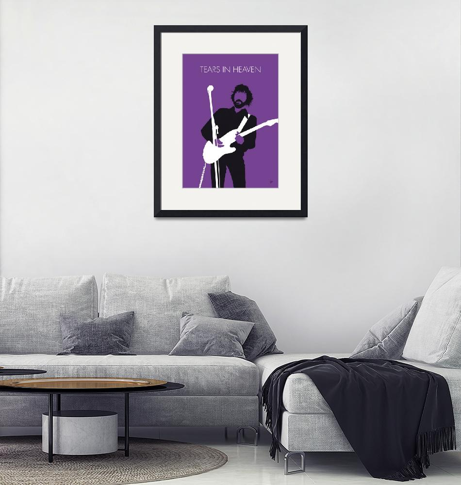 """""""No141 MY ERIC CLAPTON Minimal Music poster""""  by Chungkong"""