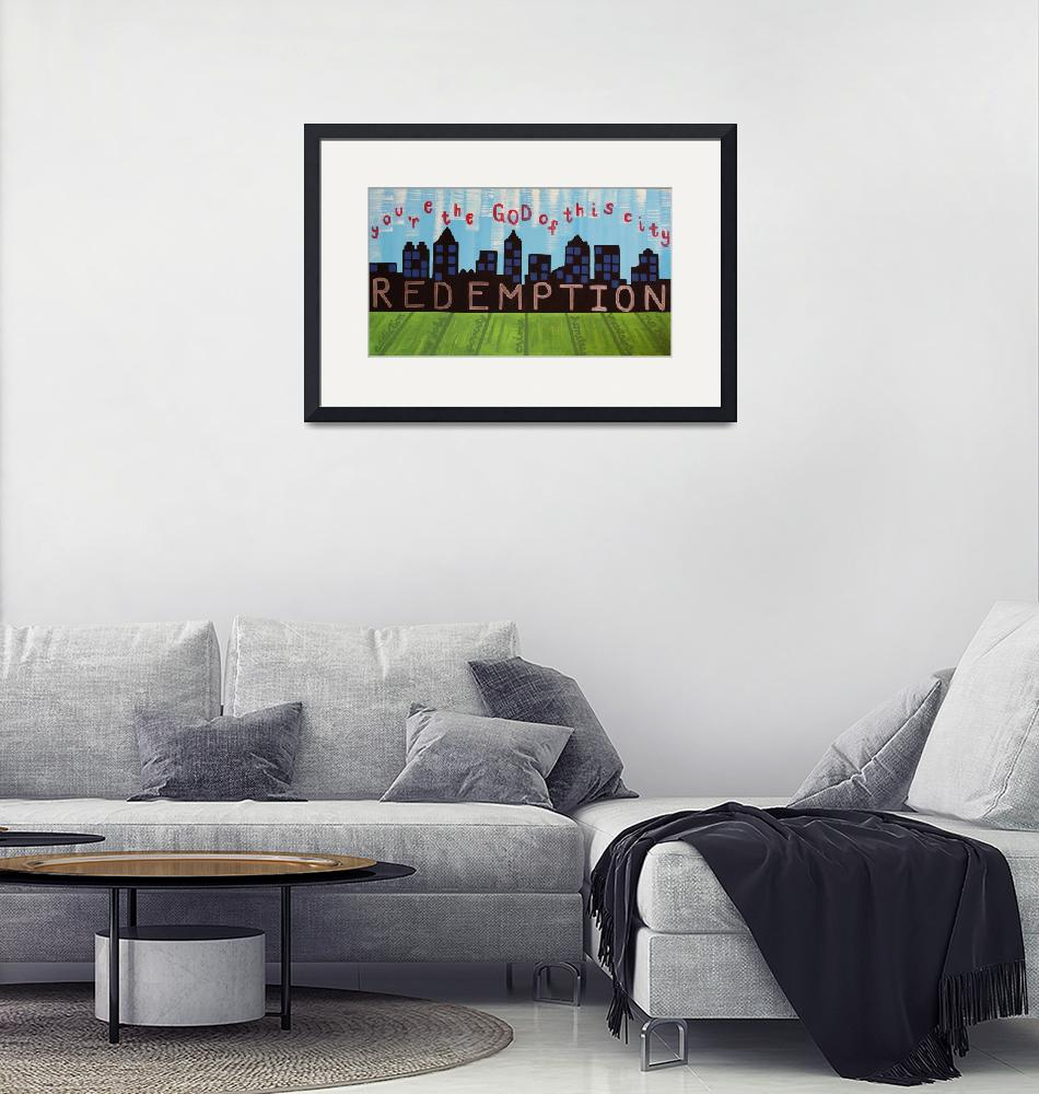 """""""God of this City Painting""""  by caitlinfogerty"""