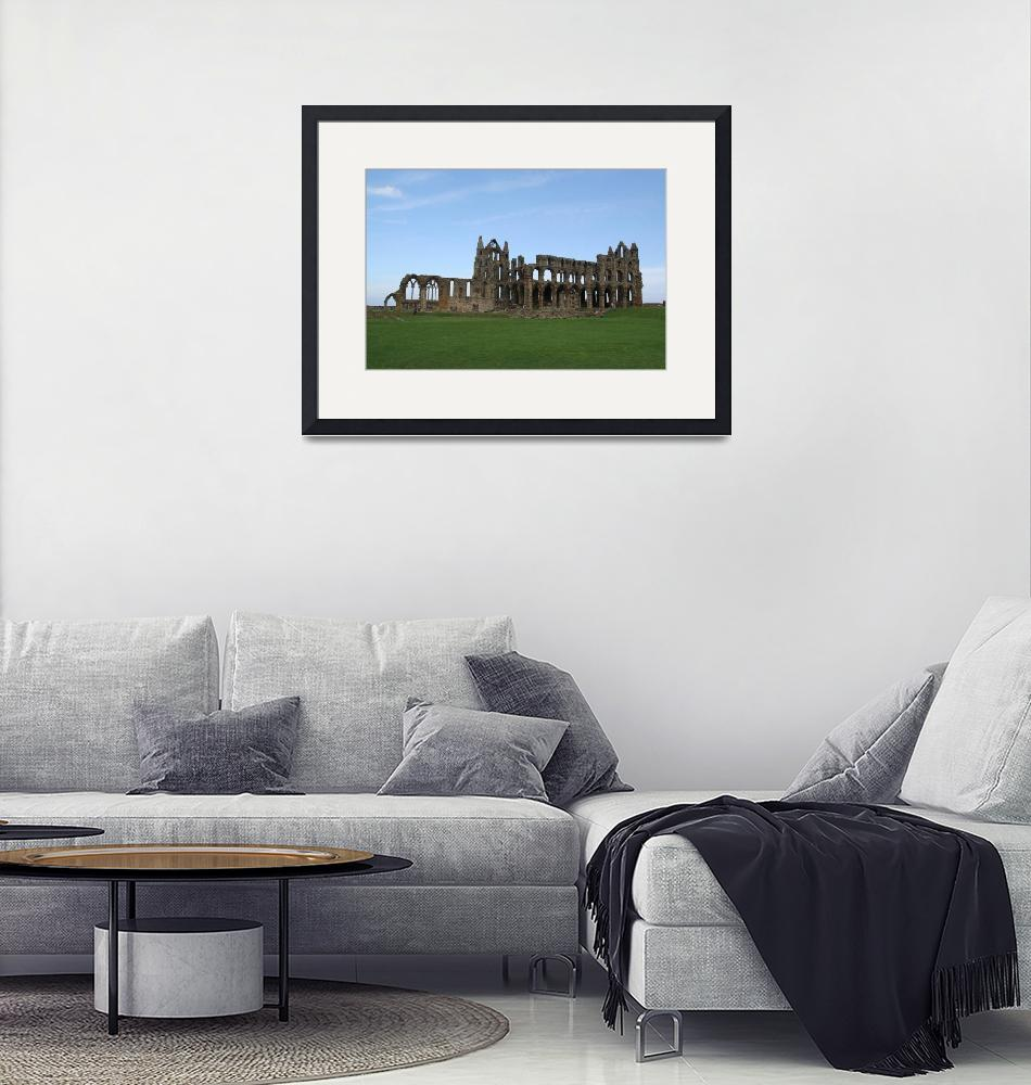 """""""whitby abbey 2""""  by sacreddestinations"""